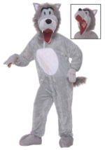 Plush Storybook Big Bad Wolf Costume
