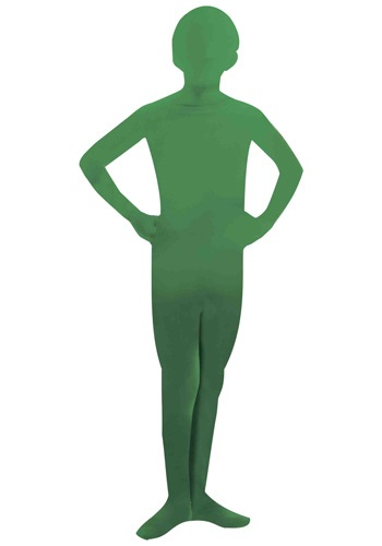 Invisible Child Green Skin Suit
