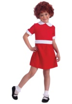 Girls Orphan Annie Costume