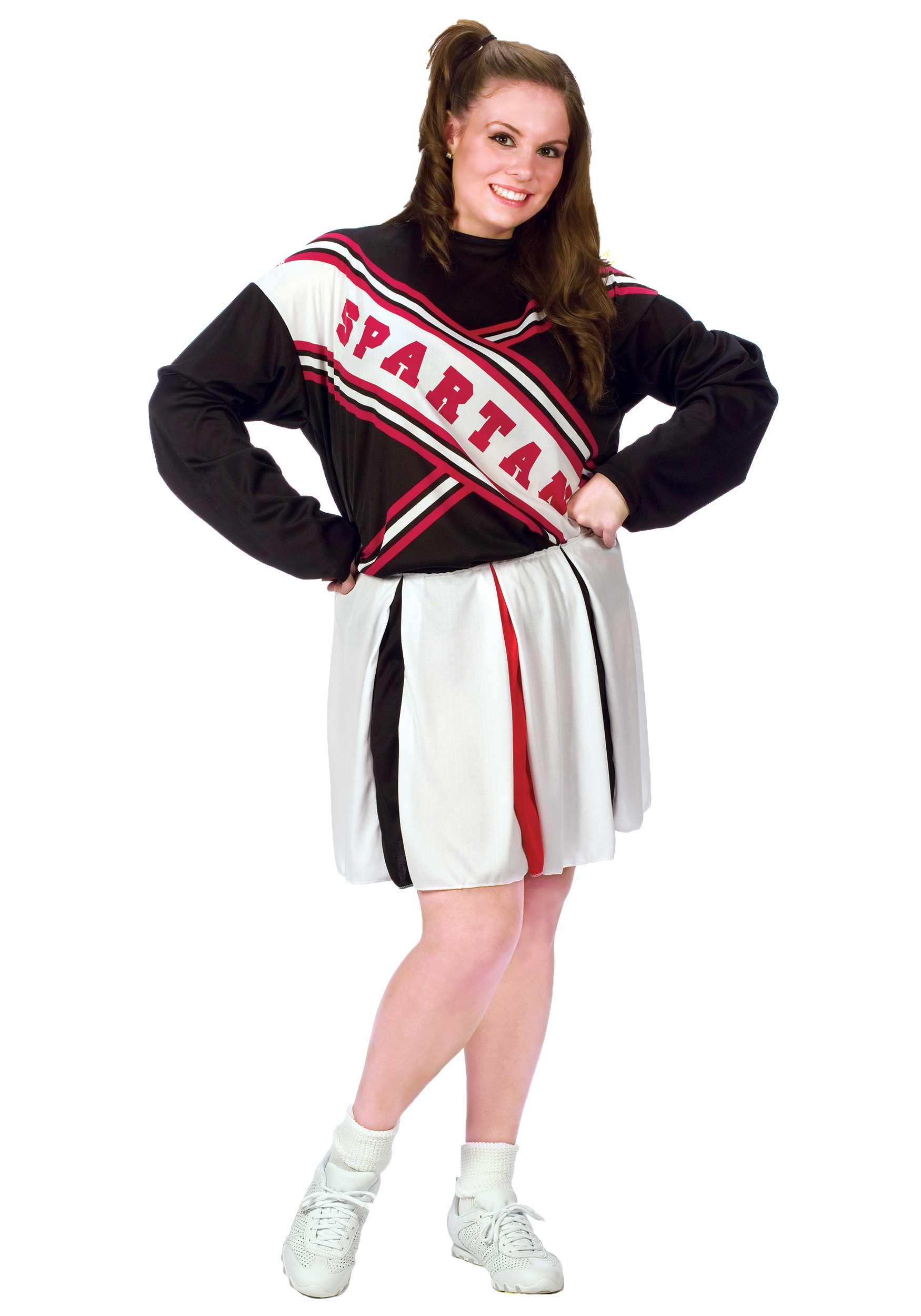 Female Spartan Plus Size Cheerleader  sc 1 st  Halloween Costume Ideas & Female Spartan Plus Size Cheerleader - Plus Size Spartan Cheerleader ...