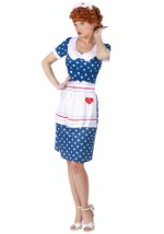 Swanky I Love Lucy Costume