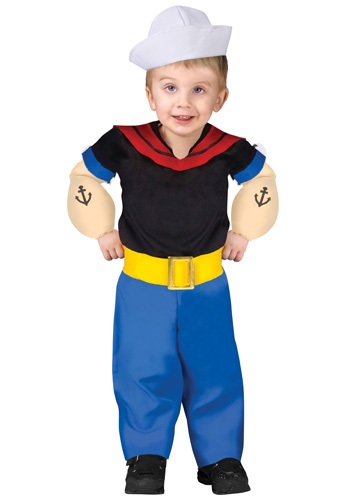 Toddler Popeye the Sailor Man Costume