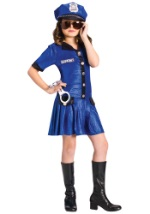 Girls Police Costume