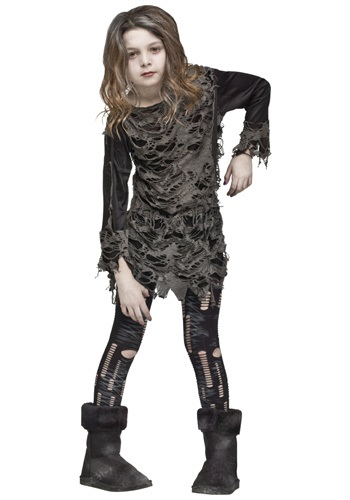 Girls Walking Zombie Costume