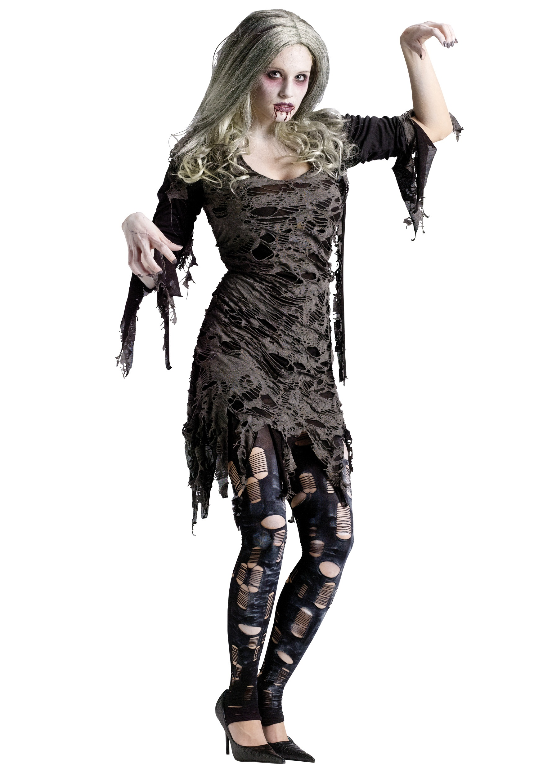 foto de Ladies Living Dead Costume - Womens Scary Zombie Costumes