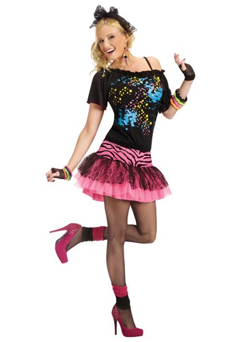 80s Pop Star Party Adult Costume