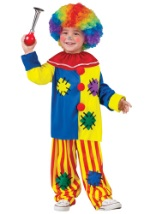 Boys Toddler Big Top Clown Costume