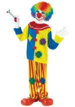 Kids Classic Big Top Clown Costume