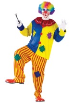 Plus Size Silly Big Top Clown Costume