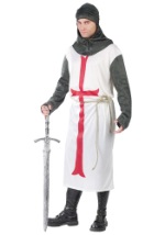 Mens Crusading Templar Knight Costume