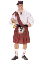 Adult Big Scot Shot Costume