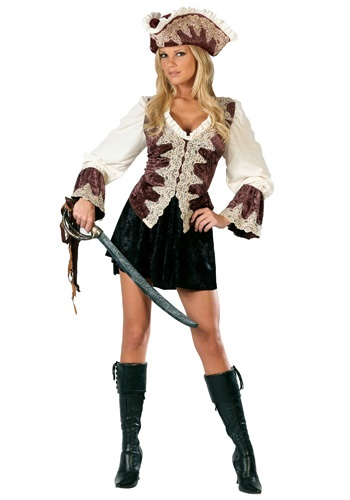 Ladies Royal Navy Pirate Costume