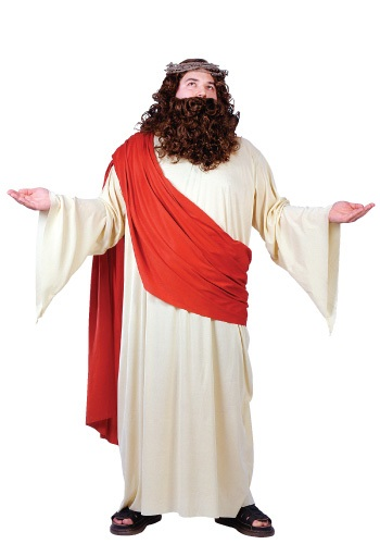 Plus Size Adult Jesus Costume