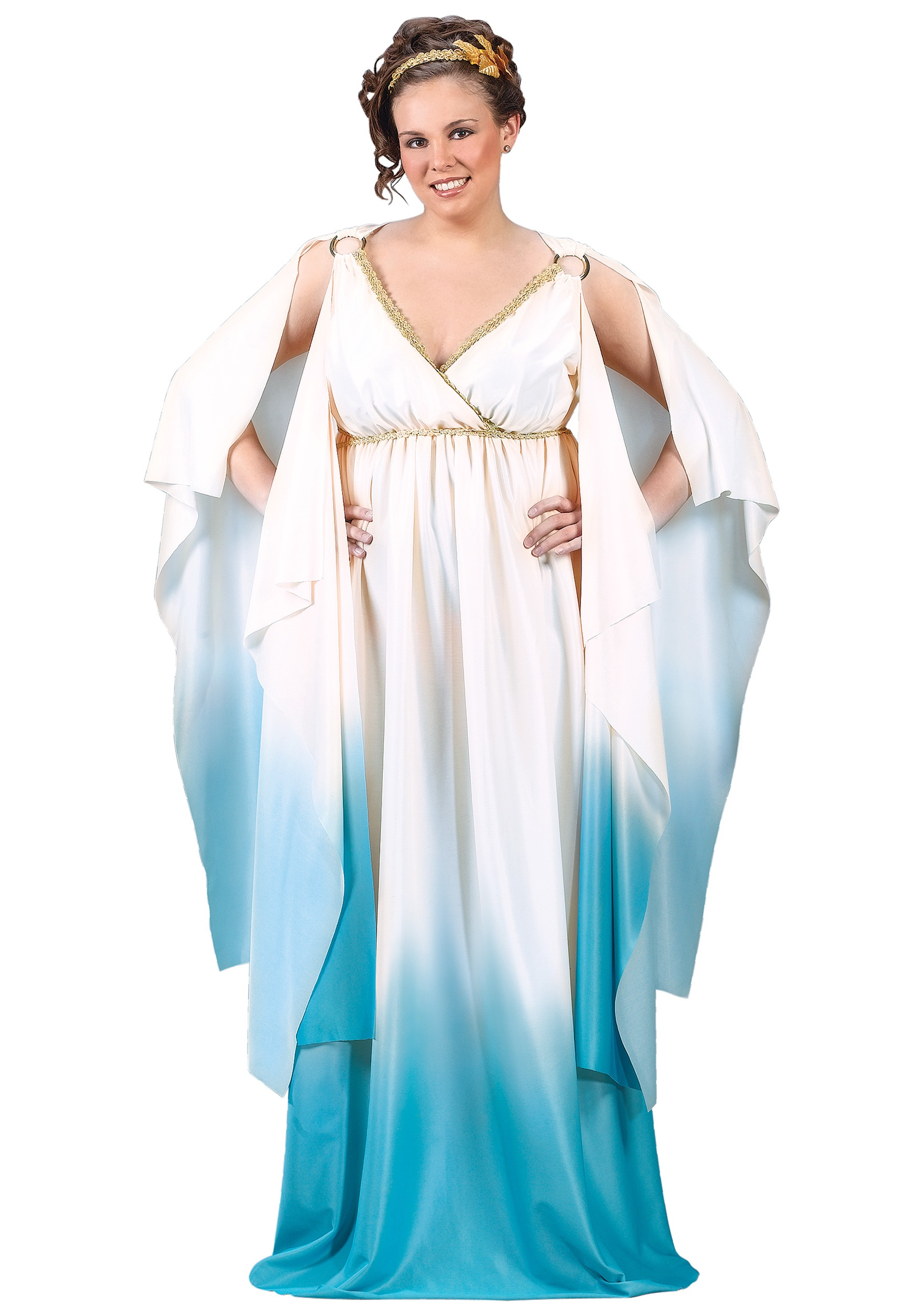 Plus Size Blue Roman Costume  sc 1 st  Halloween Costume Ideas & Plus Size Blue Roman Costume - Womens Greek Mythology Costumes