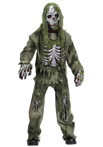 Kids Zombie Costume Child Scary Halloween Zombie Costumes