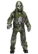 Kids Skeletal Zombie Costume