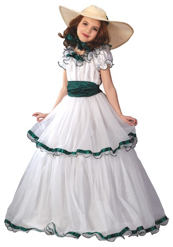 Southern Belle Costume for Girls