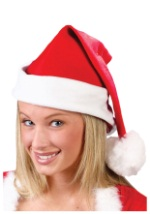 Soft Fleece Santa Hat