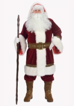 Deluxe Father Christmas Santa Costume