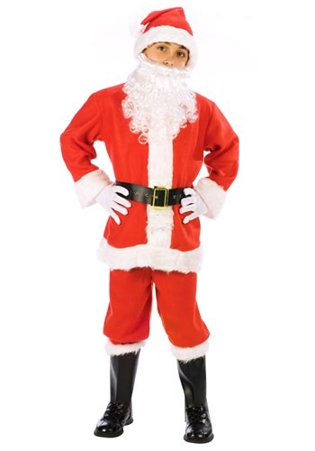 Kids Santa Claus Suit