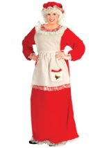 Mrs Claus Plus Size Dress Costume