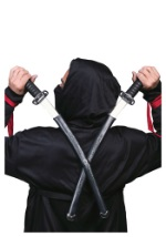 Sheathed Double Ninja Swords