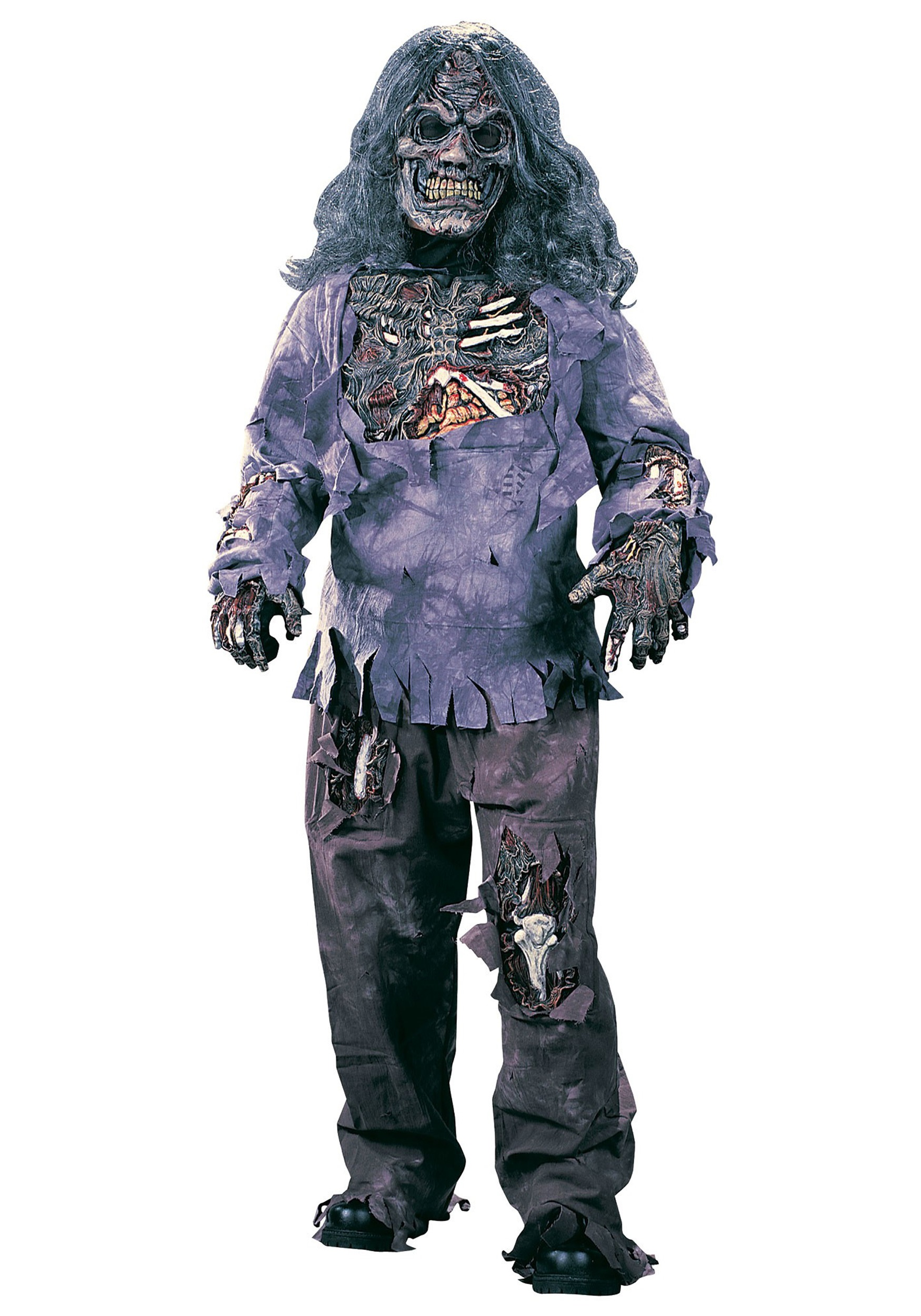 Scary Halloween Costumes For Kids Girls Uk.Child Rotten Zombie Costume