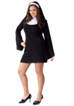 Plus Size Miss Naughty Nun Costume