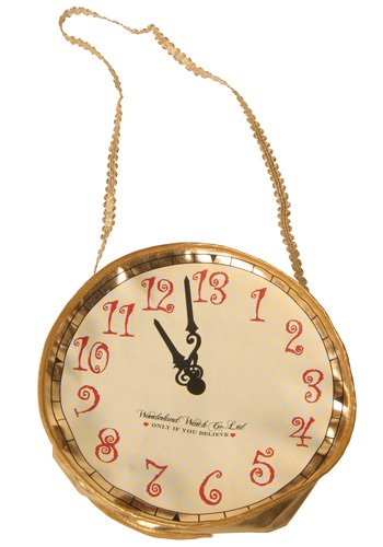 Alice in Wonderland Clock Purse