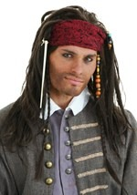 Exclusive Caribbean Pirate Wig