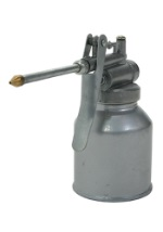 Tin Man Oil Container
