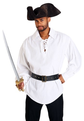 White Renaissance Pirate Shirt