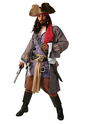 Pirate Caribbean Realistic Costume