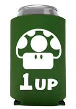Mushroom 1 Up Mario Can Cooler