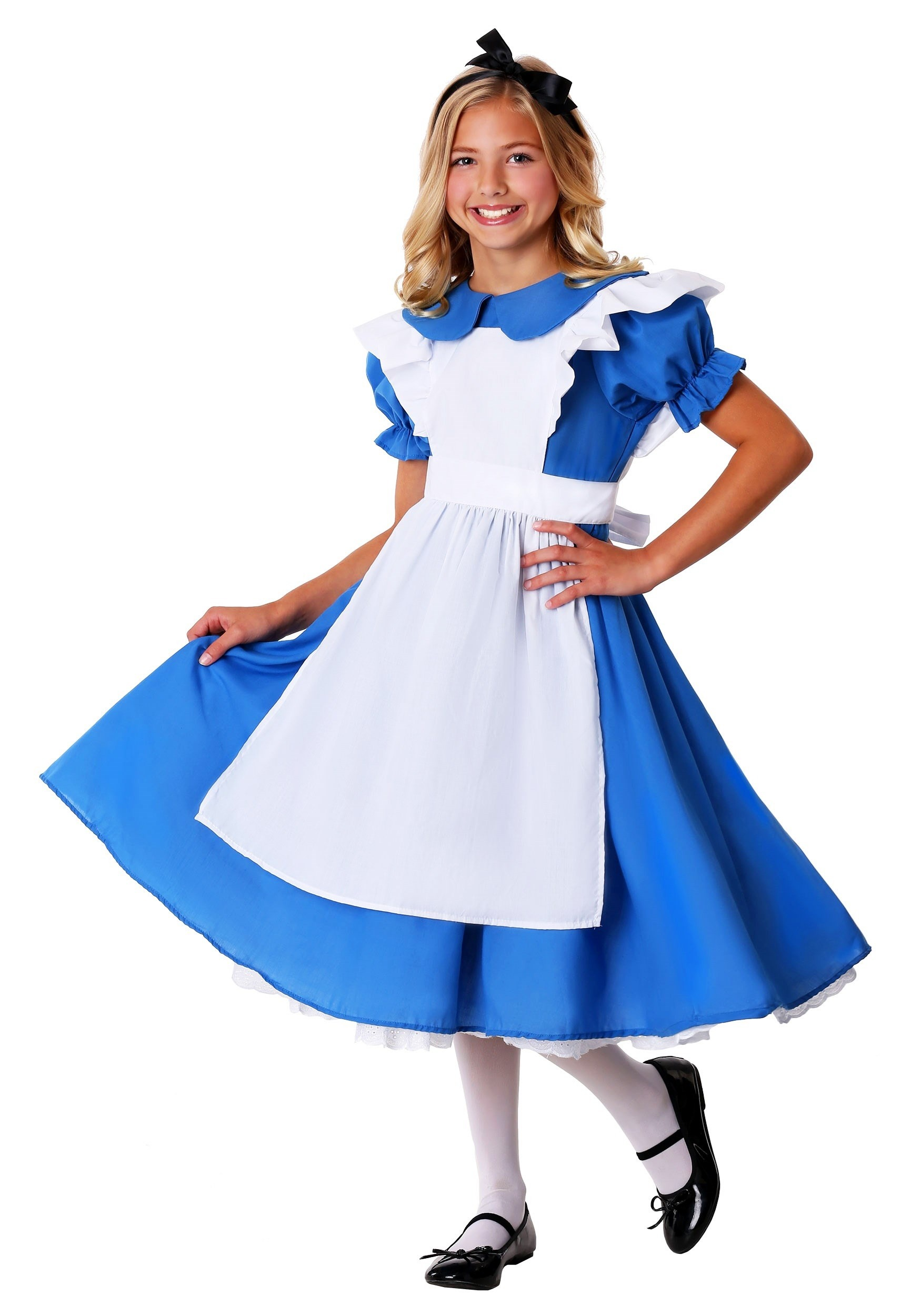 Child Deluxe Alice Costume Girls Deluxe Alice Costume