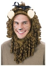 Cowardly Lion Curly Mane Wig
