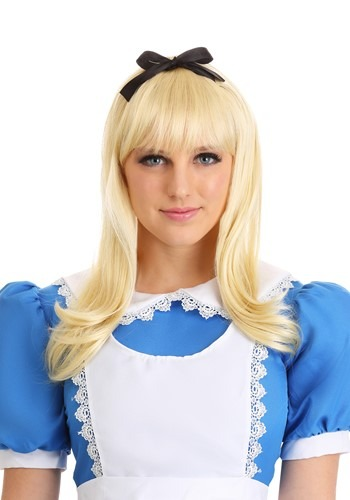 Unique Blonde Alice Wig