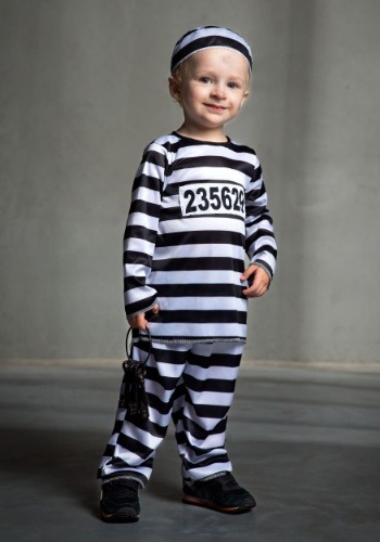 Toddler Locked Up Prisoner Costume