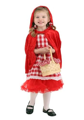 Girls Toddler Red Riding Hood Costume