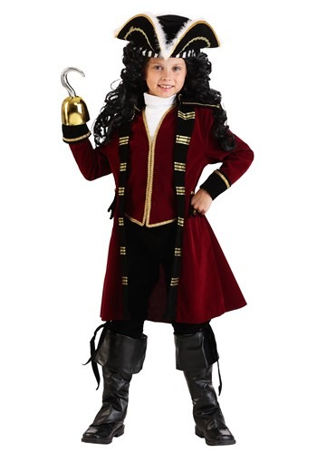 Boys Deluxe Captain Hook Costume