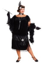 Plus Size Deluxe Flapper Costume