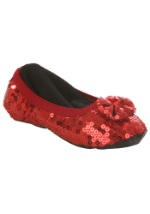 Kids Ruby Red Slippers
