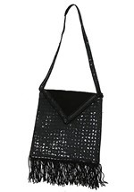 Flapper Black Handbag