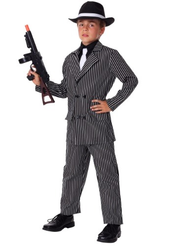 Kids Deluxe Gangster Costume