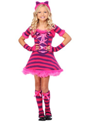 Girls Wonderland Cat Costume
