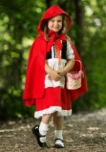 Little Red Riding Hood Child Deluxe Costume