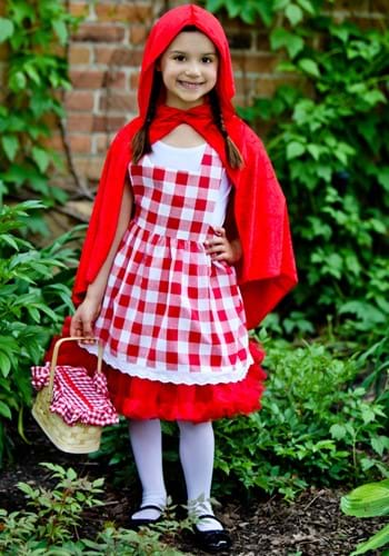 Girls Red Riding Hood Tutu Costume