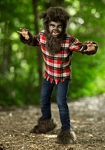 Boys Frightening Werewolf Costume