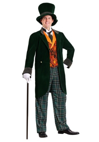Mad Hatter Deluxe Plus Size Costume