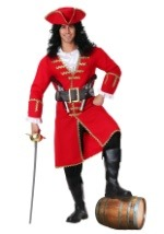 Men's Red Captain Blackheart Costume